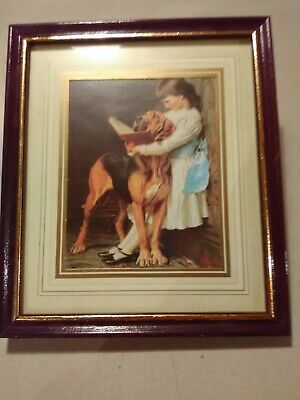 £15 • Buy CHARLES BURTON BARBER NAUGHTY BOY FRAMED PICTURE (new)