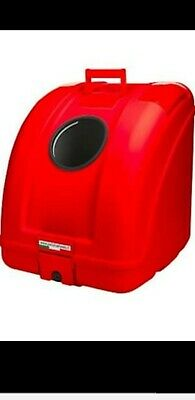 Pow Pet On Wheels Pet Carrier. Dogs And Cats. Easy Mount. Red In Colour. • 120£