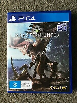 AU22 • Buy Monster Hunter World (Sony PlayStation 4, 2018) PS4
