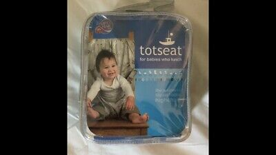 Totseat Portable Washable Fabric Highchair • 1.60£