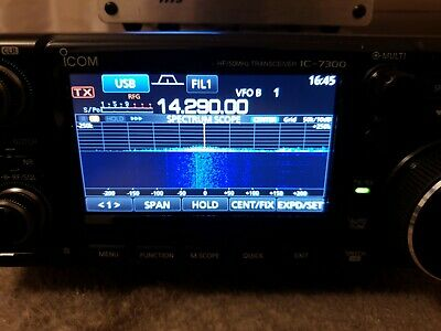Transceiver Icom Ic-7300 All Mode Hf+vhf 6 And 4m Perfect Condition Look Photos • 1,040£