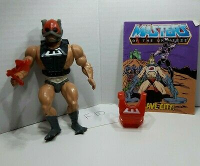 $19.99 • Buy MOTU 1981 Zodak Masters Of The Universe W/ Weapons Extra Armor & Comic Book F10