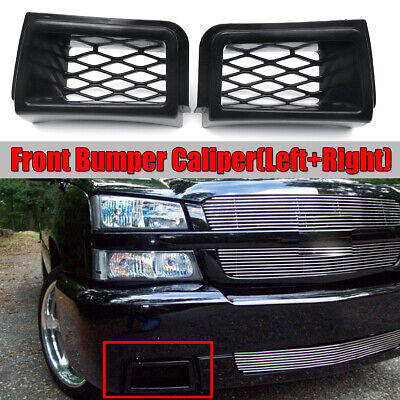 $39.88 • Buy Left+Right Front Bumper Caliper Air Duct Cover For Chevy Silverado 1500 2003-07