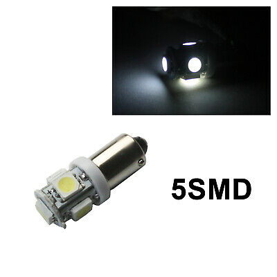 AU11.99 • Buy BA9S H6W LED White 6000K Bayonet Read Roof Ceiling Trunk Door Plate Bulb Lights