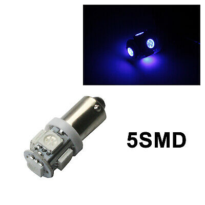 AU19.99 • Buy 20x BA9S LED W6W BA9 H6W132 Crystal BLUE Roof Reads Roof Map Number Plate Light
