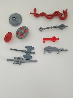 $16 • Buy Lot Of 1980's He-Man Master Of The Universe MOTU Weapons. He-man Accessories