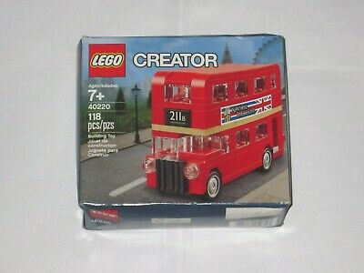 $ CDN25.51 • Buy LEGO Creator 40220 London Double Decker Bus, Sealed, Damaged Box, FREE Shipping!
