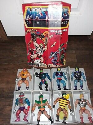 $159 • Buy Mattel Masters Of The Universe He-Man Action Figure 8 Pc & Collectors Case