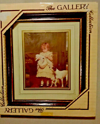 £9.99 • Buy Charles Burton Barber Gallery Collection Framed Picture Puppy Love (new)