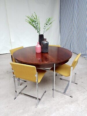 £2250 • Buy Vtg Mid Century Rosewood Merrow Associates Dining Table & 4 Dining Chairs #637