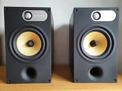 B&W 685 Bowers & Wilkins Speakers, Black Ash, Excellent New Like Condition • 195£
