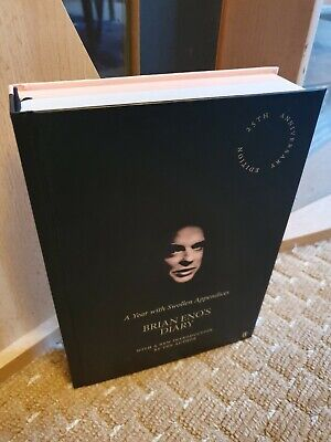 Brian Eno A Year With Swollen Appendices SIGNED Book Hardcover Roxy Music! • 39.89£