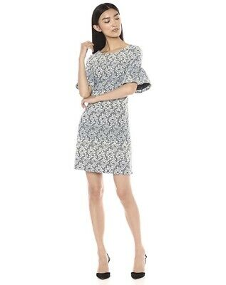 $ CDN44.28 • Buy Ivanka Trump Women's Floral Bell Sleeve Shift Dress Size 8