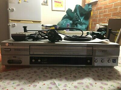 AU100 • Buy LG VCR Player With REMOTE - BOXED - Model GC480W Video Player Tested Working