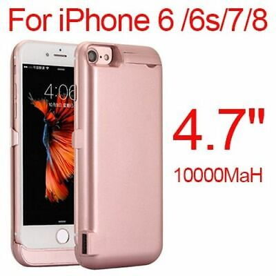 AU32.98 • Buy 10000mAh Phone Battery Charger Case For IPhone 6 6s 7 8 Plus Charging Power Bank