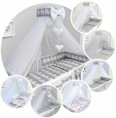 £23.99 • Buy Baby Drape Canopy Mosquito Net With Ribbon ONLY Fits Cot Cot Bed
