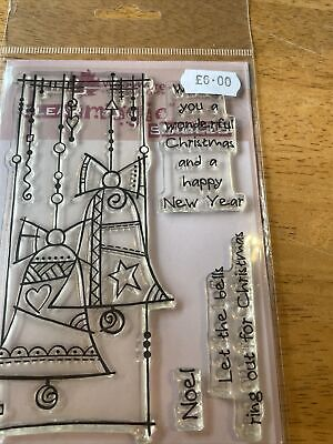 Woodware Clear Stamps Christmas Theme • 1.28£