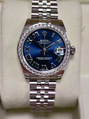 $ CDN11621.58 • Buy Rolex Datejust 31 178240 Blue Dial 2007 Box And Papers (61)