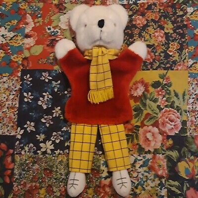 £10 • Buy Rupert The Bear Vintage Hand Glove Puppet With Legs Soft Lefray Toys