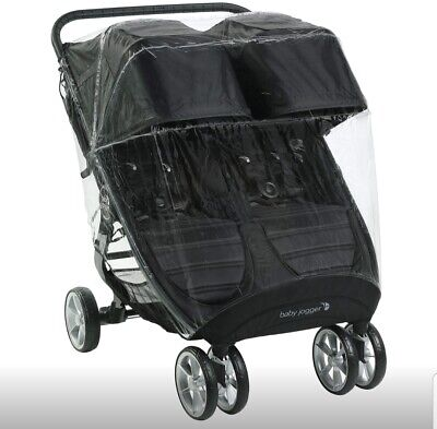 Baby Jogger Weather Shield Pushchair Rain Cover | For City Mini 2 Double & City • 29.99£