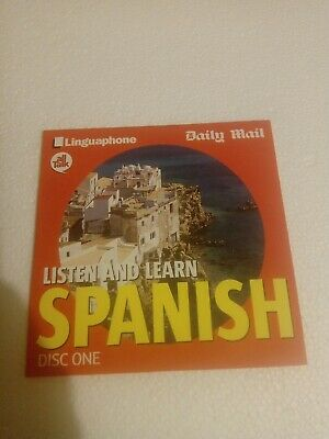 £1.10 • Buy Linguaphone All Talk Daily Mail Listen And Learn Spanish Disc 1 Very Good Fast P