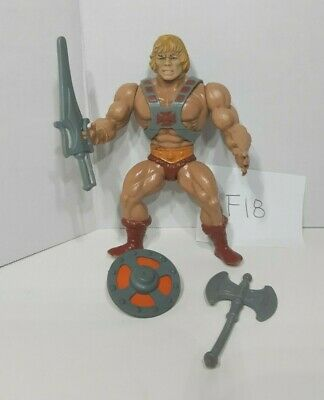 $41 • Buy MOTU Vintage Classic He-Man 1981 Masters Of The Universe W/ Weapons F18