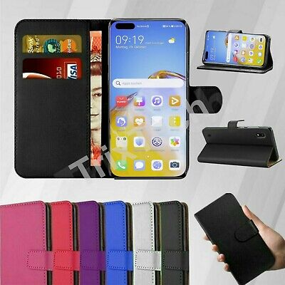 Case For Huawei P20 P30 P40 Pro Lite Cover Flip Wallet Leather Magnetic Luxury • 2.95£