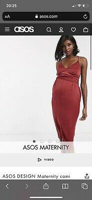 AU15 • Buy ASOS Maternity Dress Size 8 - NEW Without Tags