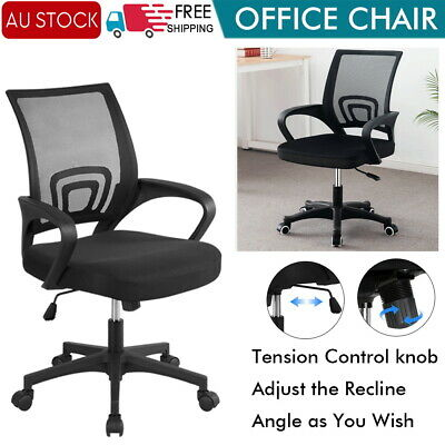 AU40 • Buy Ergonomic Executive Office Computer Chair Breathable Mesh Cushions Support Seat