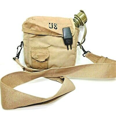 $ CDN14.76 • Buy 1996 US Army 2qt Canteen Skilcraft 1A863 Collapsible Canteen With Case