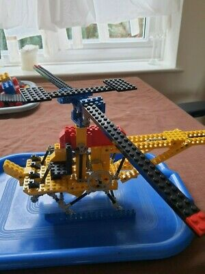 Vintage 70's 1977 Lego ORIGINAL ISSUE TECHNIC 852 Helicopter WITH Instructions • 30£