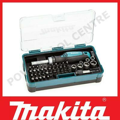 £21.99 • Buy Makita B-36170 47 Piece Ratchet Screwdriver Wrench And Bit Set In Carry Case