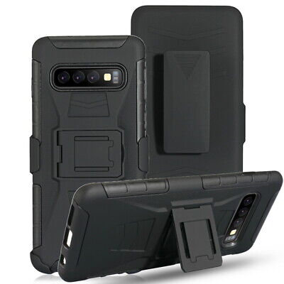 $ CDN7.49 • Buy Shockproof Armor Case Cover+Holster Belt Clip For Samsung S8/9 S10 Note 10 A20S