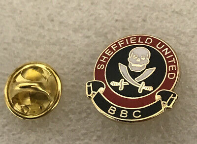 Very Rare Sheffield United Supporter Enamel Badge -  BBC Hooligan Firm (3) • 4.99£