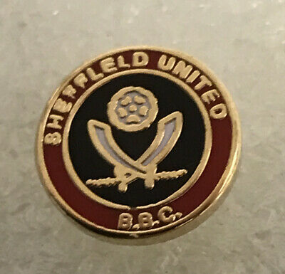 Very Rare Sheffield United Supporter Enamel Badge -  BBC Hooligan Firm (4) • 4.99£