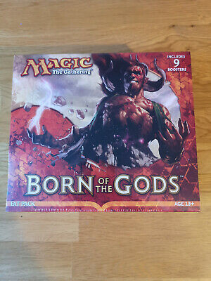 Magic The Gathering Born Of The Gods Fat Pack For Card Game MTG Ccg New Sealed • 36£