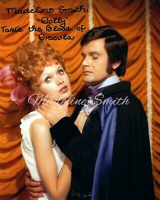 £19 • Buy DRACULA - Madeline Smith Officially Signed Photograph Hammer Films TASTE01
