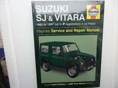 Suzuki SJ410/SJ413 (82-97) And Vitara Service And Repair Manual By HAYNES .... • 12.75£