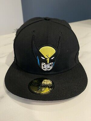 RARE New Era 59FIFTY Wolverine Baseball Cap. Marvel. Claw Rips. Size 7 1/4. • 24.99£