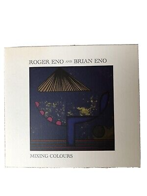 Roger Eno And Brian Eno-Mixing Colours,2020 Ambient CD In As New Condition. • 4.70£