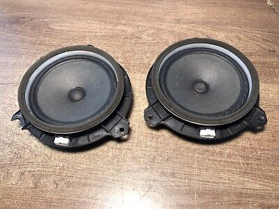 Toyota Avensis T270 2009 Rear Door Speakers X 2 Pair Free Uk Delivery!!!  #2.1.2 • 29.95£