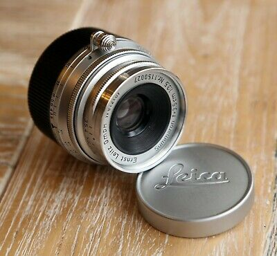 Leica Leitz Summaron 35mm F3.5 M Mount Lens - Near MINT Condition C/w Leica Caps • 529.99£