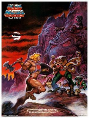 $14.94 • Buy He-Man  POSTER #14  Masters Of The Universe  *LARGE & AMAZING IMAGE*  He Man