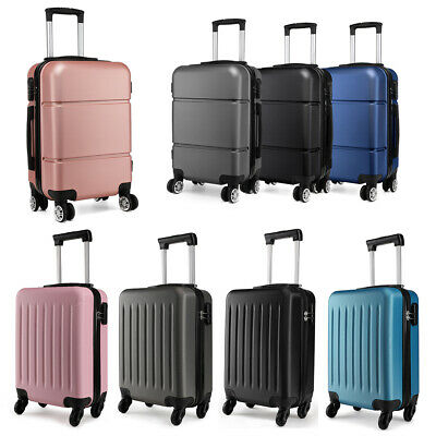 £18.99 • Buy Ryanair Suitcase Cabin Carry On Hand Luggage 4 Wheeled Hard Travel Case Bag