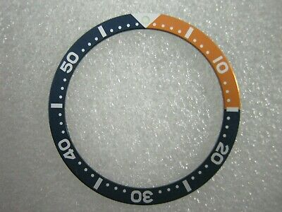 $ CDN18.75 • Buy New LARGE BLUE/ORANGE  Bezel Insert For SKX007-009 / 6306 / 6309 / 7002