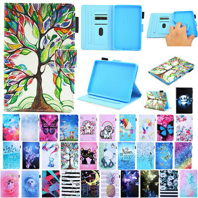 """AU18.98 • Buy For Amazon New Kindle 2019 6""""10th Gen Painted Flip Leather Stand Card Case Cover"""