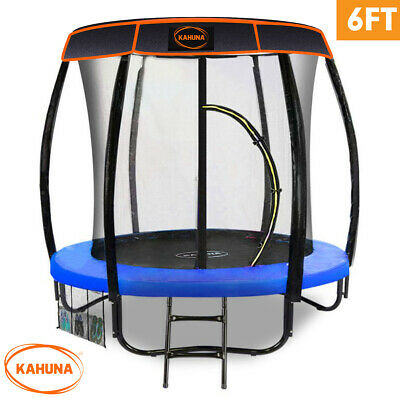 AU874.50 • Buy Trampoline 6ft With Roof Blue Kahuna