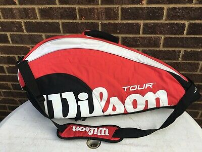WILSON Tour Large 12 Racket Tennis Bag In EXCELLENT, Little Used Condition !!! • 24.99£