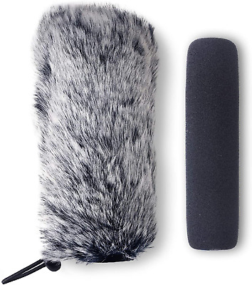 Rode VideoMic Go Furry Windscreen And Foam Cover - Rode GO Mic Camera Indoor By • 12.18£