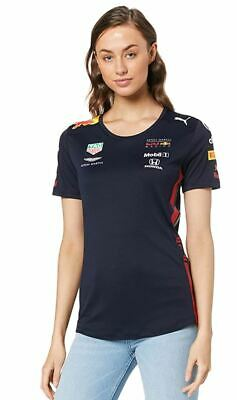 Puma Womens Aston Martin Red Bull Racing Team T-Shirt Navy (M) • 34.99£